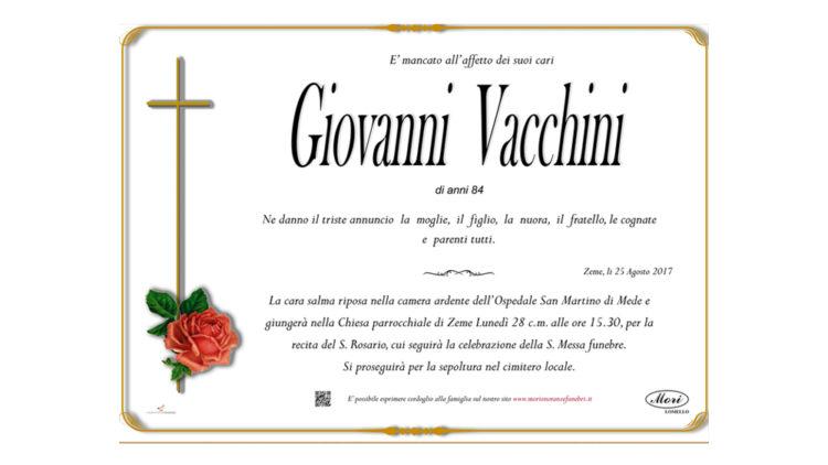 Giovanni  Vacchini