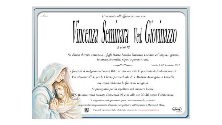Vincenza Seminara Ved. Giovinazzo