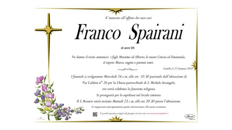 Franco  Spairani