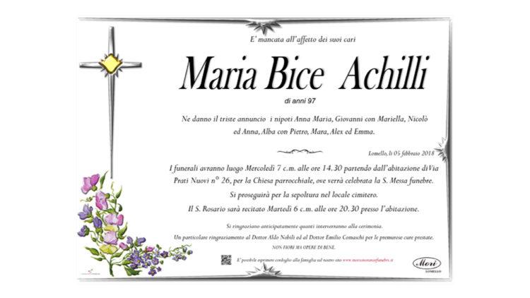 Maria Bice Achilli