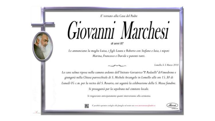 Marchesi Giovanni