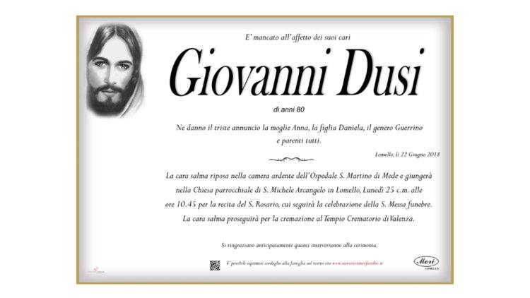 Giovanni Dusi