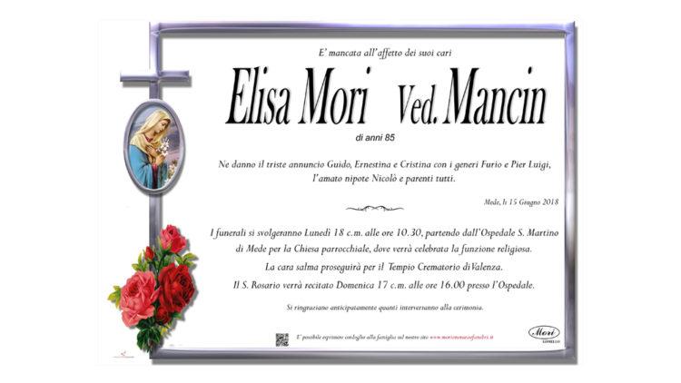 Elisa Mori Ved. Mancin