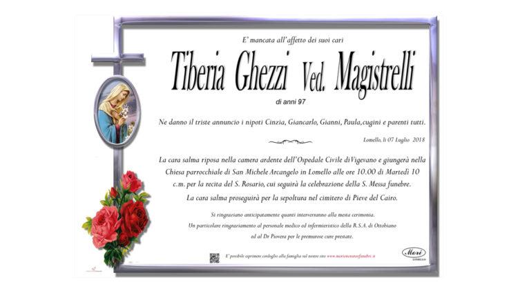 Tiberia Ghezzi Ved. Magistrelli