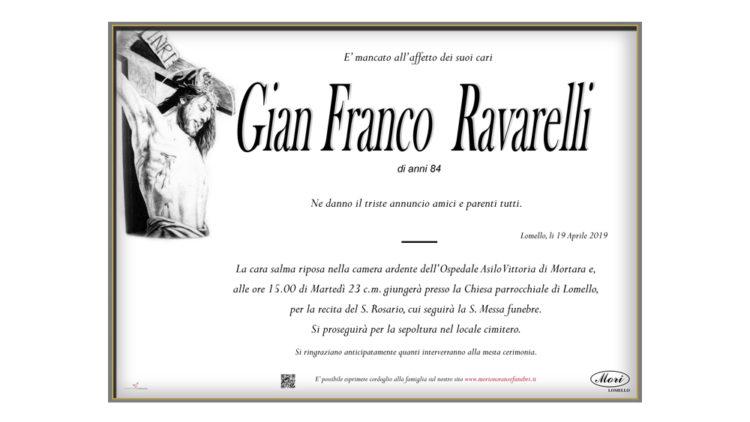 Gian Franco Ravarelli