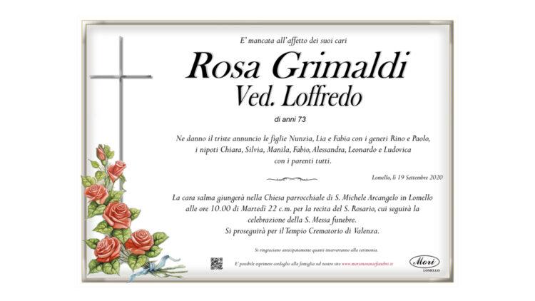 Rosa Grimaldi Ved. Loffredo