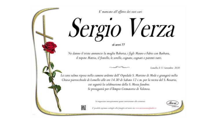 Sergio Verza