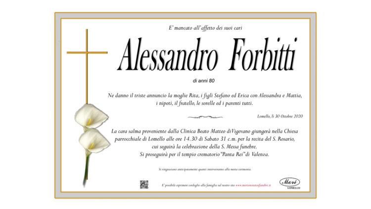 Alessandro Forbitti