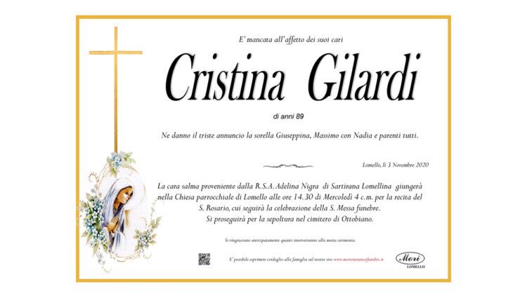 Cristina  Gilardi