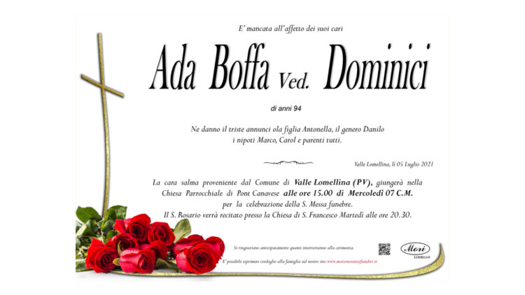 Ada Boffa Ved. Dominici